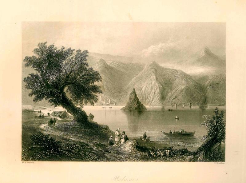 Babakaï-gravure W. Bartlett