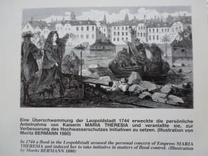 Danube_cartographie_Marie-Thérèse et les innondations de Vienne