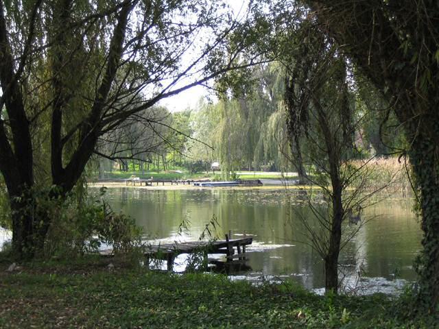 Grand canal de Bačka, à la hauteur de Bezdan