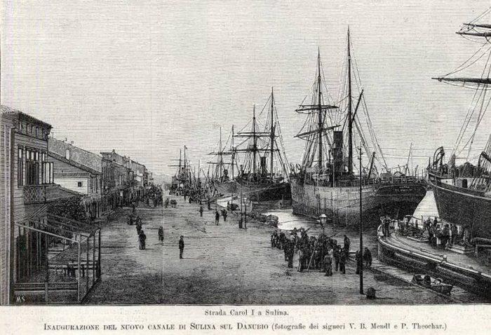 Inauguration du nv port de Sulina