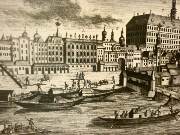 Zille dans le port de Linz
