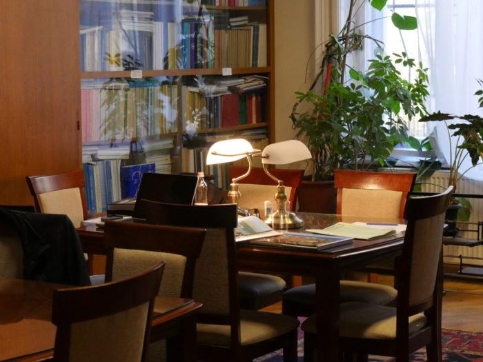 Bibliothèque de la Commission du Danube à Budapest (photo droits réservés)