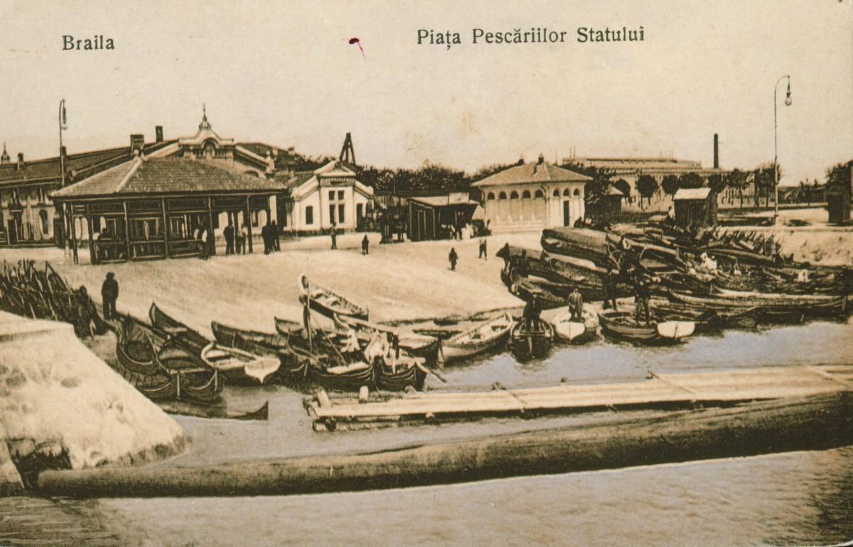 Piata Pescariilor Statului din Braila