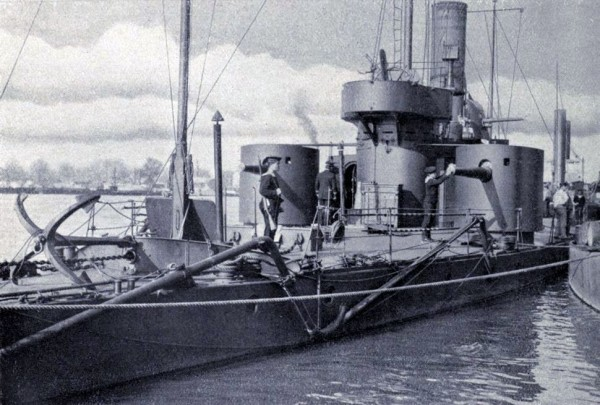 SS_ Monitor austro Hongrois -Bodrog_1914