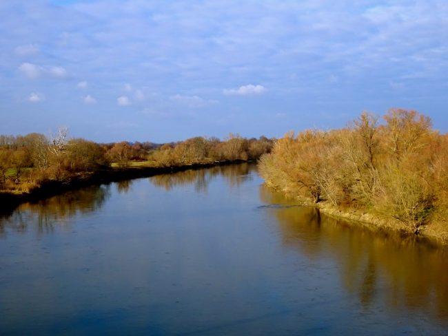 Pont-passerelle de la liberté sur la March (Morava)