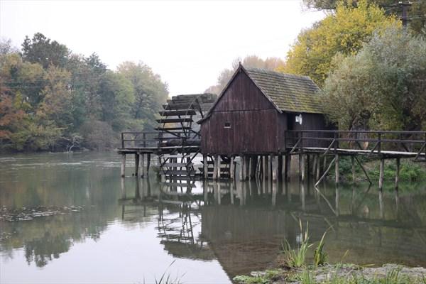 Le moulin de Tomašikovo, sur le Váh slovaque, date de 1893